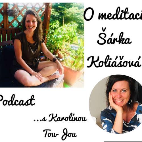 Rozhovor s Šárkou Koliášovou na téma Meditace