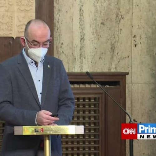 Tisková konference ministra Jana Blatného
