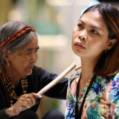 Hausbot Petra Horkého 2019 (11) - Whang Od Oggay - nejstarší tatérka světa