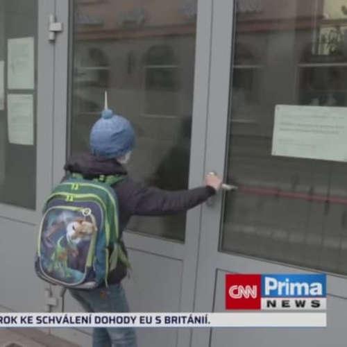 Škola dál netestuje všechny (zdroj: CNN Prima NEWS)