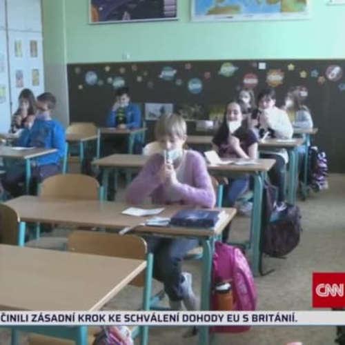 Školy chtějí PCR testy (zdroj: CNN Prima NEWS)