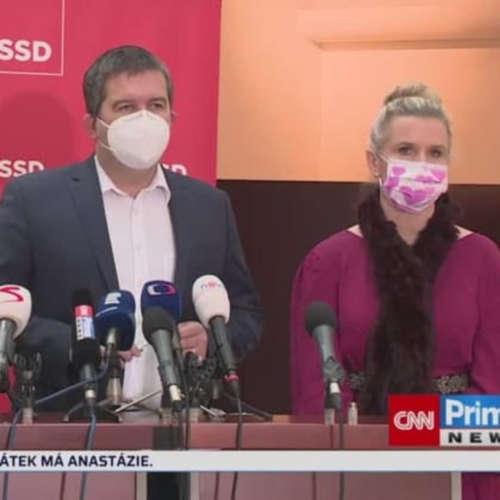 Hamáček pojede do Ruska (zdroj: CNN Prima NEWS)