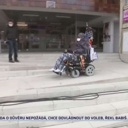 Vozíčkářům vstup nedoporučen (zdroj: CNN Prima NEWS)