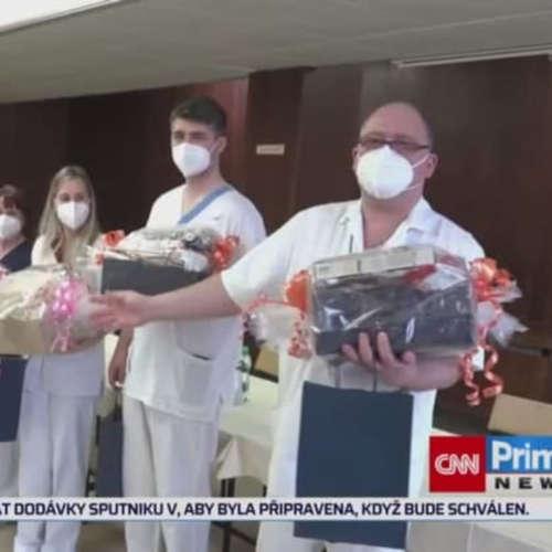 Zloděje zadrželi zdravotníci (zdroj: CNN Prima NEWS)