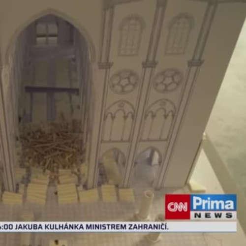 Notre-Dame: Dva roky po požáru (zdroj: CNN Prima NEWS)