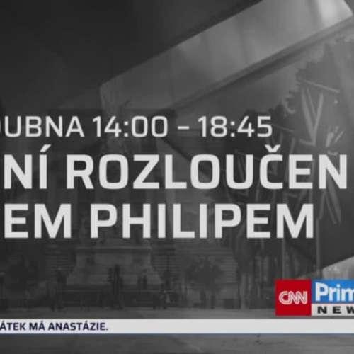 Přípravy na královský pohřeb (zdroj: CNN Prima NEWS)