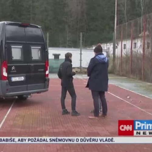 V kurzu budou karavany (zdroj: CNN Prima NEWS)