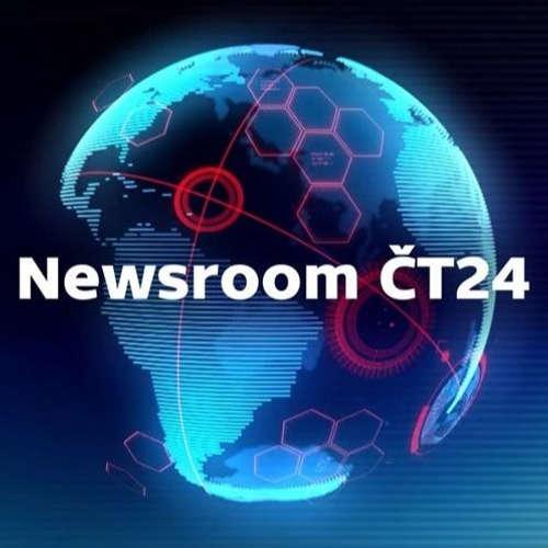 Newsroom ČT24: Prezident Zeman u Luboše Xavera Veselého zase ve vysílání