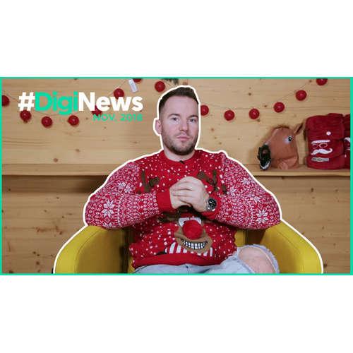 Youtube spustil stories, Instagram mení profil  | #DigiNews november
