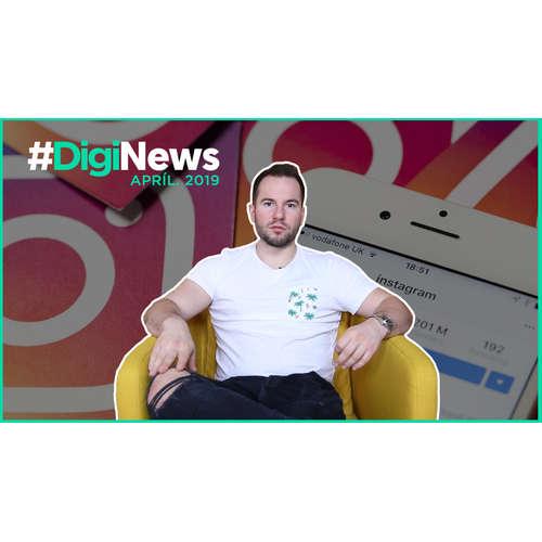 Instagram má kvíz, 3D fotky sú už aj v Stories | #DigiNews apríl