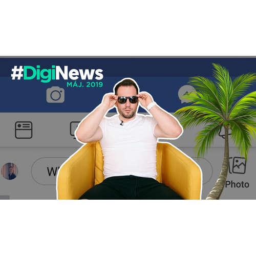 Instagram schováva srdiečka | #DigiNews máj