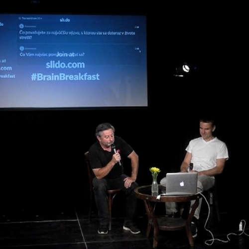 Brain&Breakfast: Patrik Paul o dizajne a zlepšovaní sveta