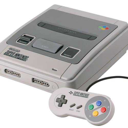 (6.) Super Nintendo Entertainment System