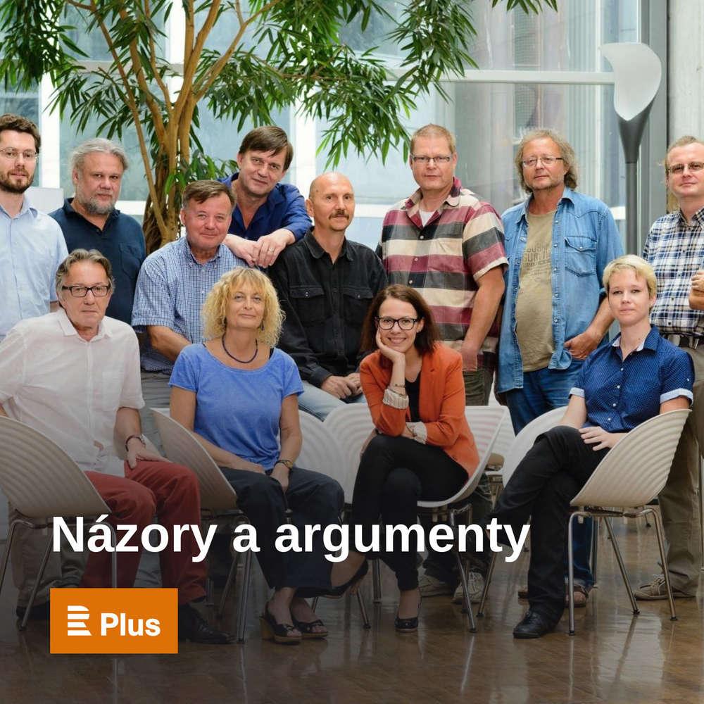 Názory a argumenty - Poslechněte si všechny čtvrteční večerní komentáře. Moderuje Jan Fingerland