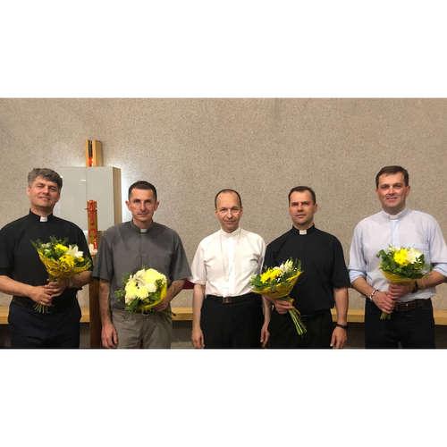 Dvadsať rokov kňazmi