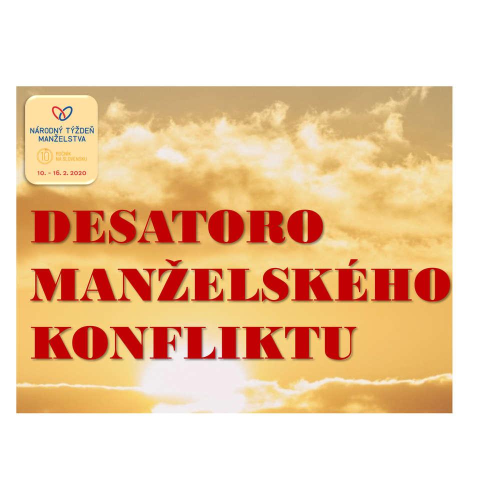 DESATORO MANŽELSKÉHO KONFLIKTU