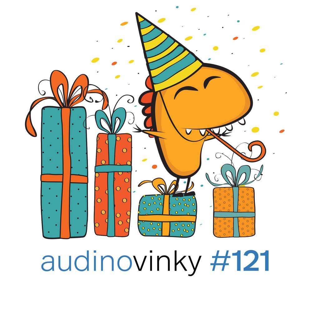 #121 Audioknihy za polovinu a další dárky na oslavu