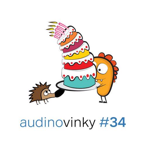 Audinovinky 34 - je nám pět!