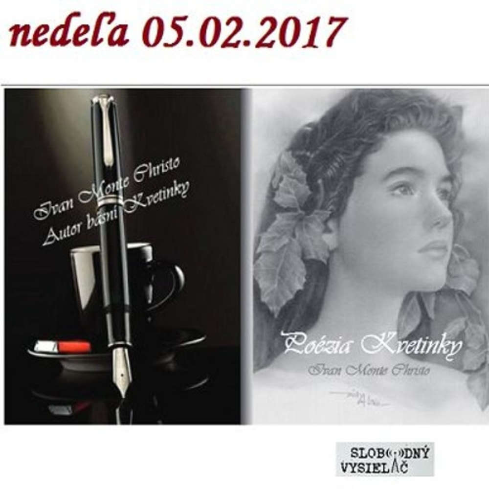 Literarna ajov a 47 2017 02 05 basnik Ivan Monte Christo