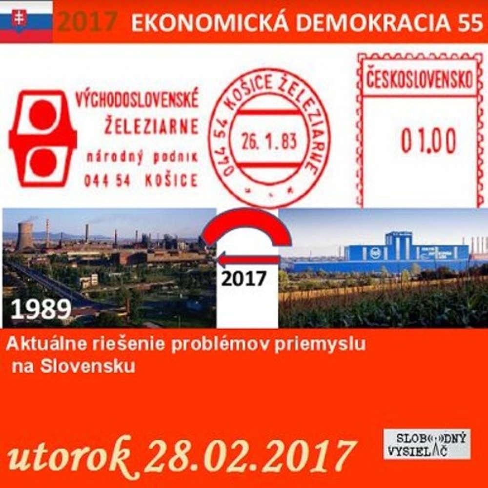 Ekonomicka demokracia 55 2017 02 28 Aktualne rie enie problemov priemyslu na Slovensku