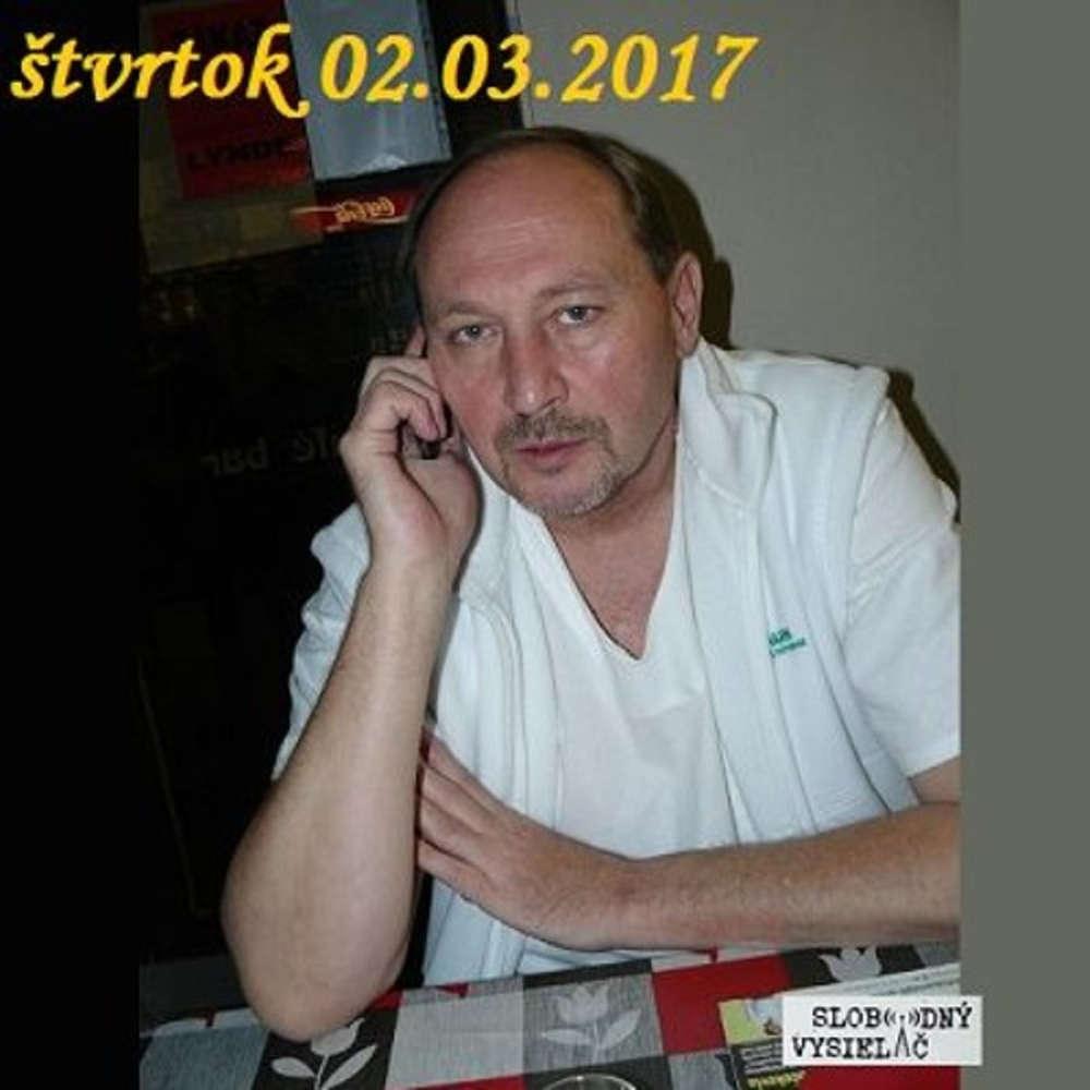 Verejne tajomstva 84 2017 03 02 s MUDr Franti kom Hamplom o zdravi hudbe a motorkach