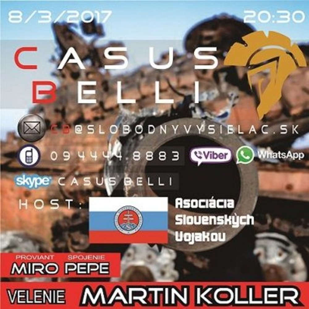 Casus Belli 06 2017 03 08 Slovenske ozbrojene sily Mame vobec armadu realita VS fikcia