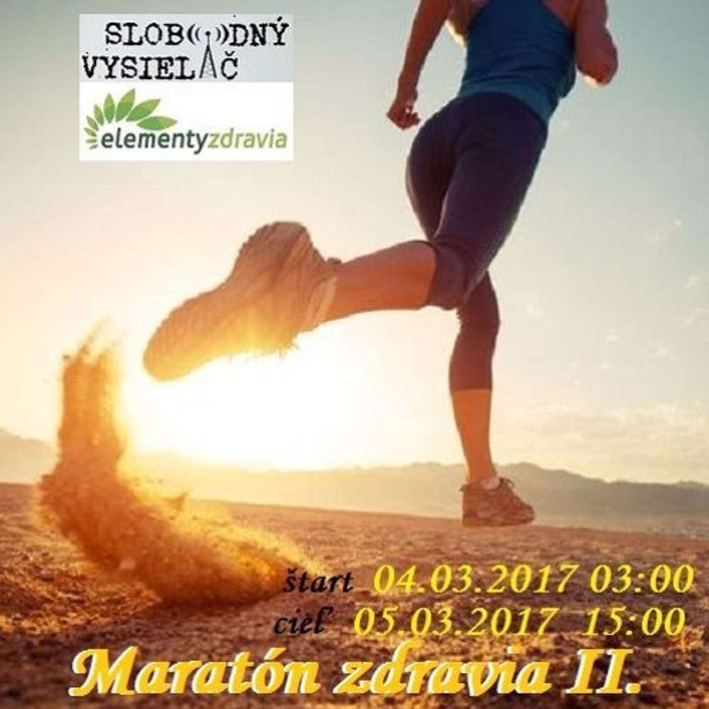 Maraton zdravia 17 2017 03 04 Listare
