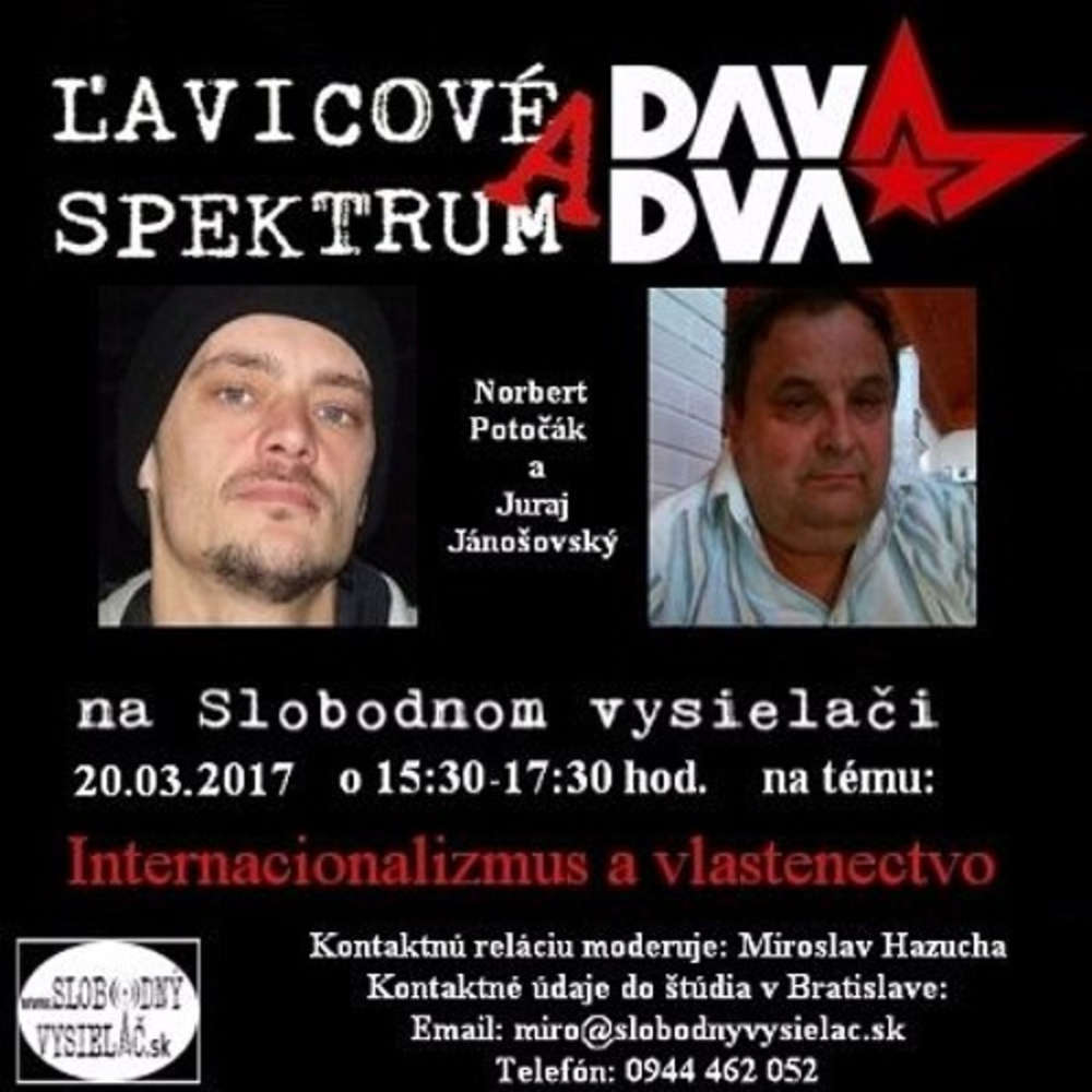 avicove spektrum 29 2017 03 20 Internacionalizmus a vlastenectvo