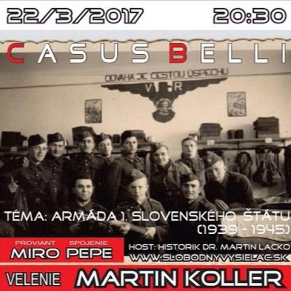 Casus belli 08 2017 03 22 Armada 1 Slovenskeho tatu 1939 1945