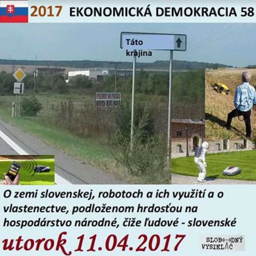 Ekonomicka demokracia 58 2017 04 11 O hrdosti na narodne hospodarstvo