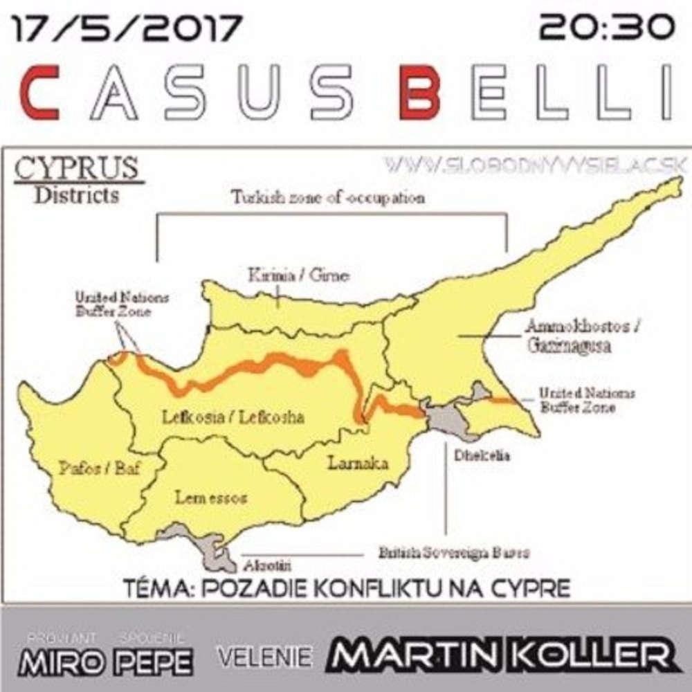 Casus belli 13 2017 05 17 KONFLIKT NA CYPRE
