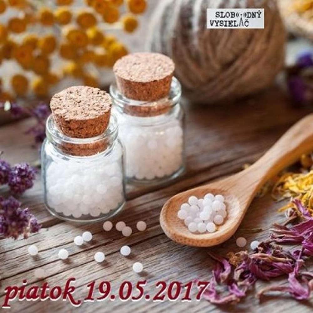 Rie enia a alternativy 20 2017 05 19 Homeopatia