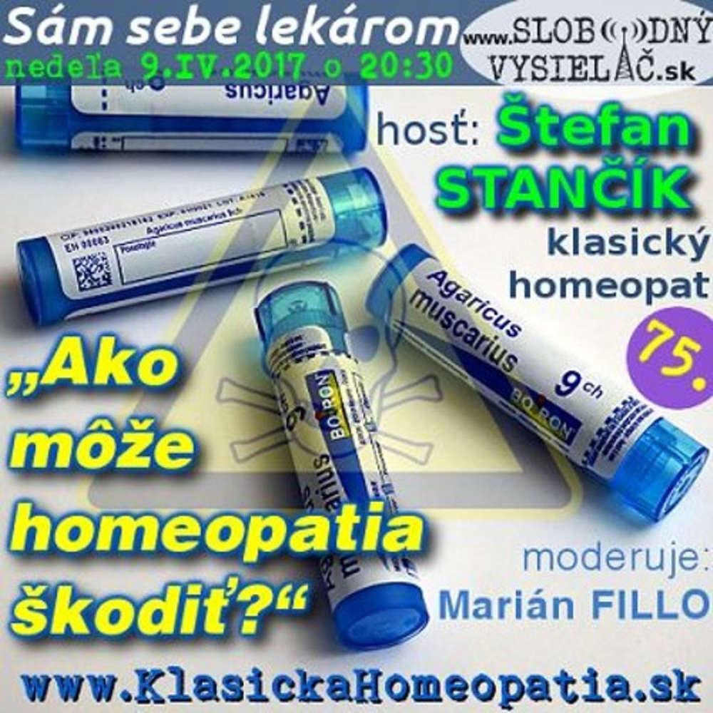 Sam sebe lekarom 75 2017 04 09 Ako mo e homeopatia kodi