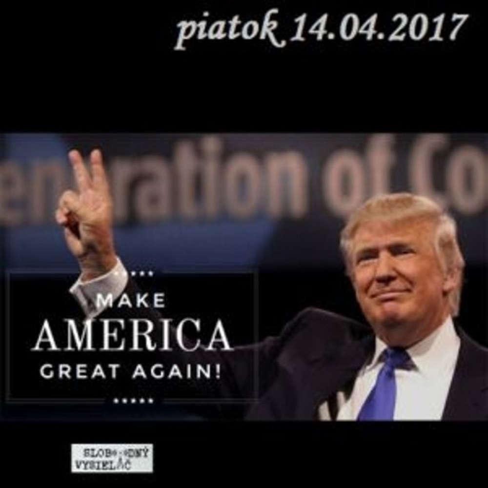 Intibovo okienko 06 2017 04 14 100 dni vlady Donalda Trumpa a utok USA v Syrii