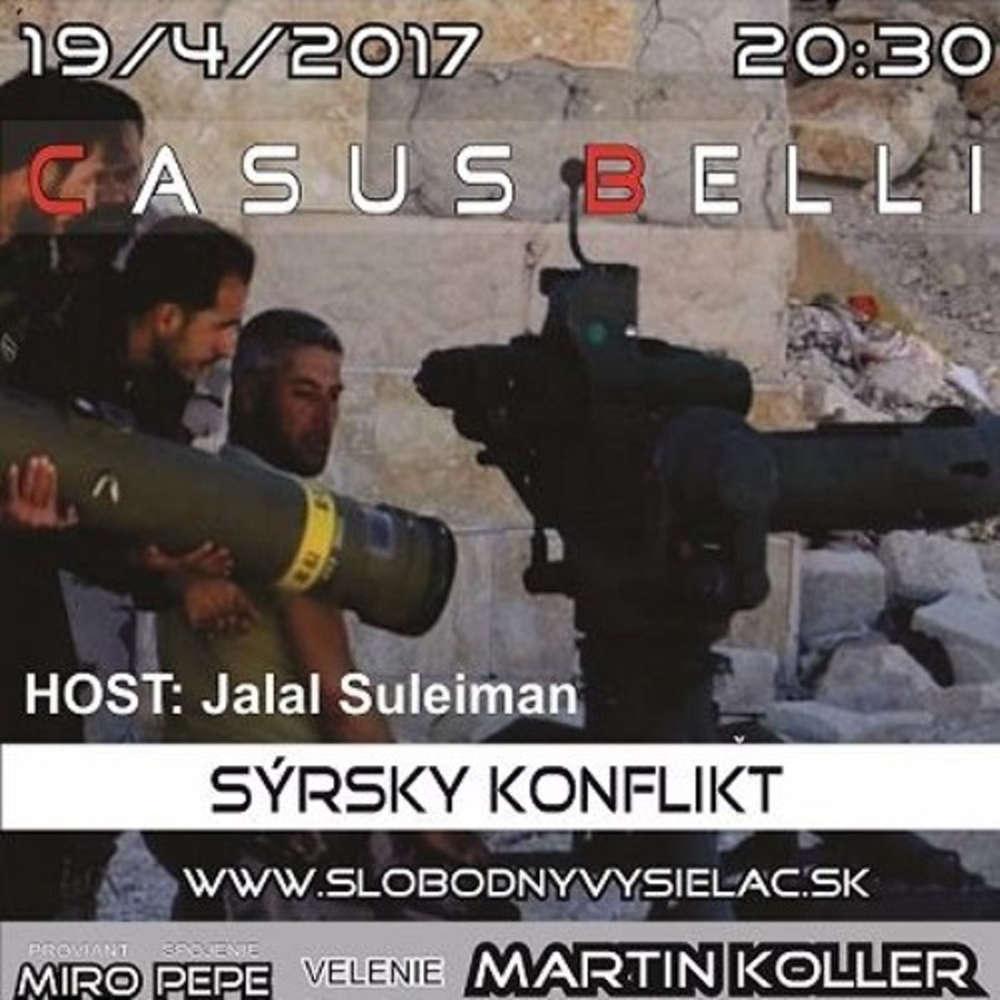 Casus belli 10 2017 04 19 SYRSKY KONFLIKT