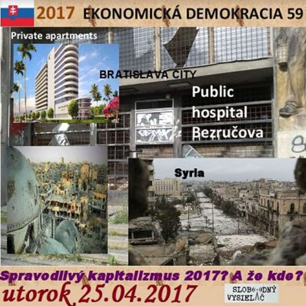 Ekonomicka demokracia 59 2017 04 25 Spravodlivy kapitalizmus 2017 A e kde