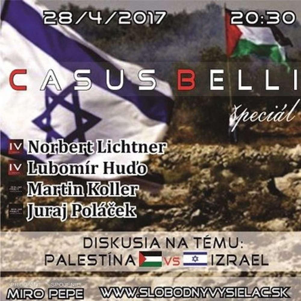 Casus Belli 11 2017 04 28 Intifady strachu Palestina VS Izrael