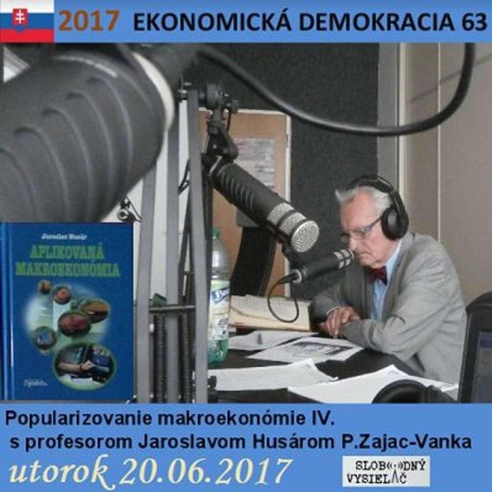 Ekonomicka demokracia 63 2017 06 20 Popularizovanie makroekonomie IV