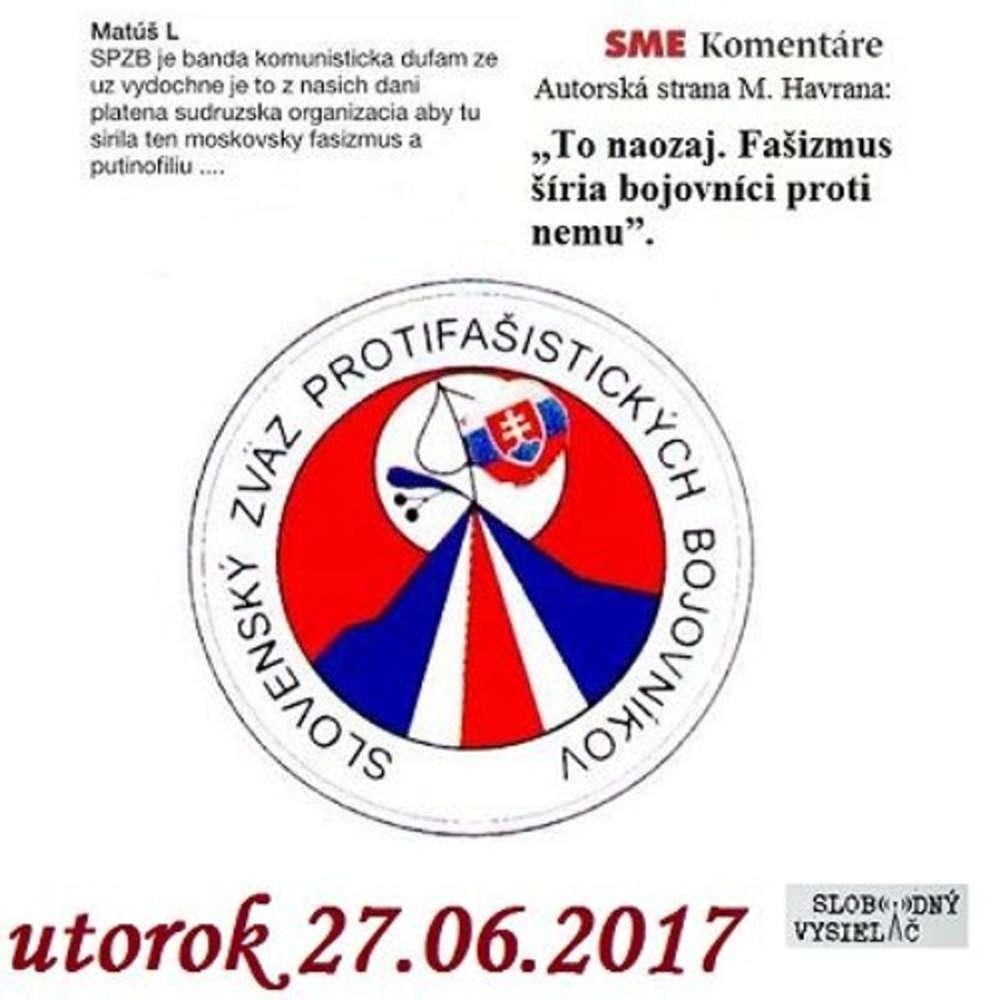 V prvej linii 2017 06 27 Protifa isticki bojovnici pod pa bou demokratov
