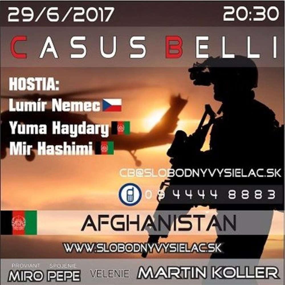 Casus Belli 17 2017 06 29 Afghanistan