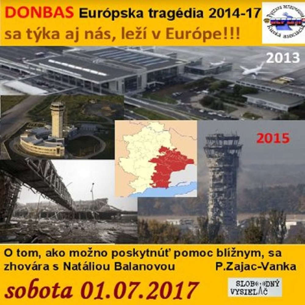 Ekonomicke rozhovory 30 2017 07 01 DONBAS Europska tragedia 2014 17