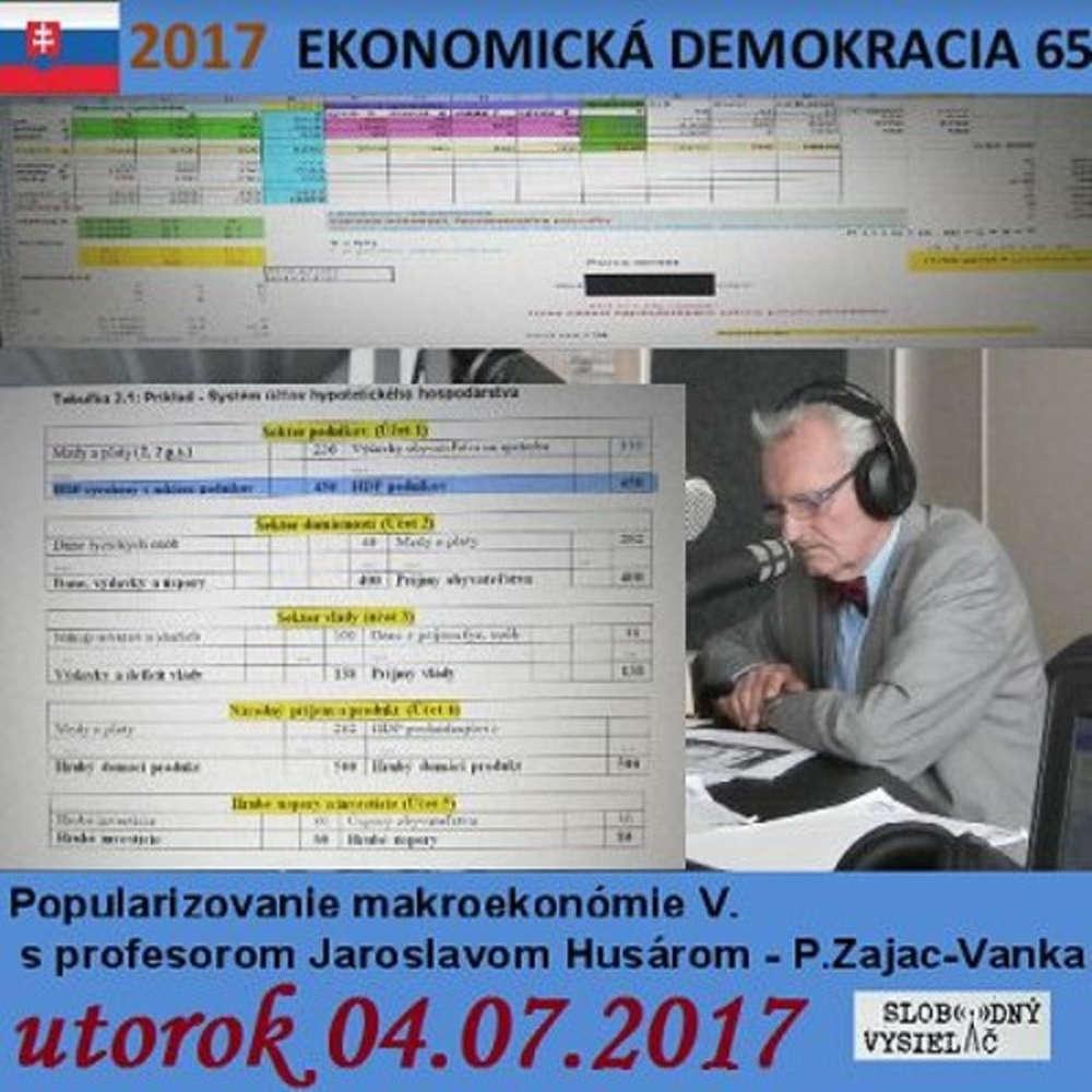 Ekonomicka demokracia 65 2017 07 04 Popularizovanie makroekonomie V