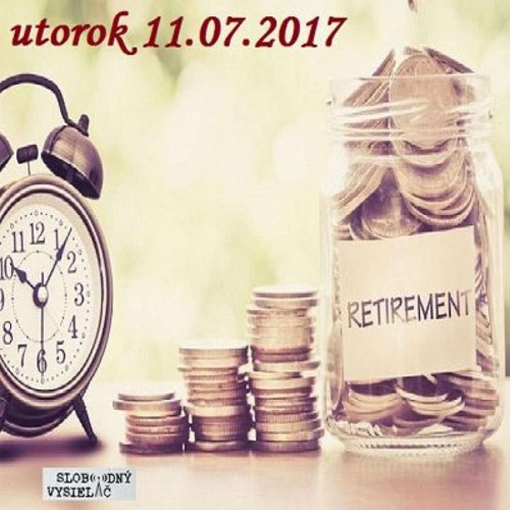 Finan ne zdravie 36 2017 07 11 Ako bude vyzera Va dochodok