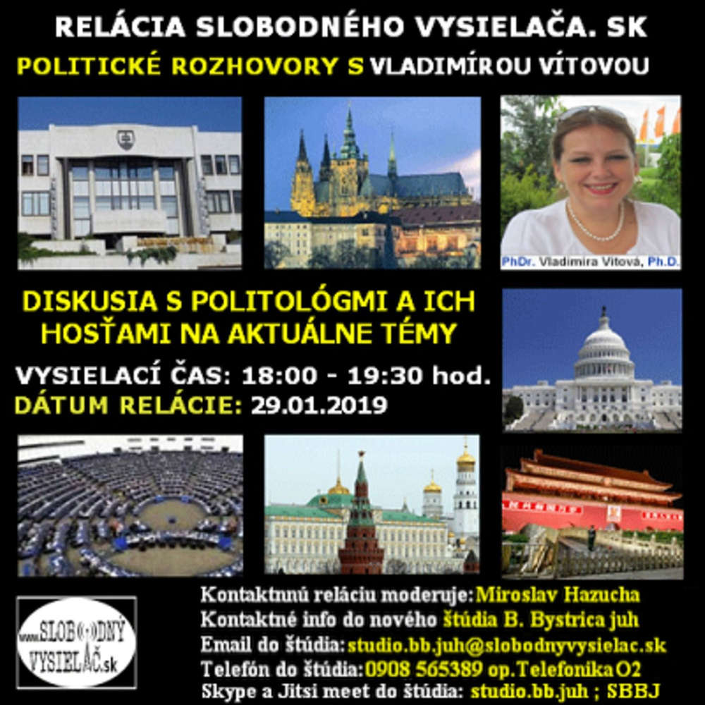 Politicke rozhovory 08 2019 01 29 Dr Vladimira Vitova