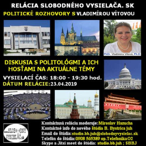 Politické rozhovory 15 - 2019-04-23 Dr. V. Vítová a Dr. R. Štedroň