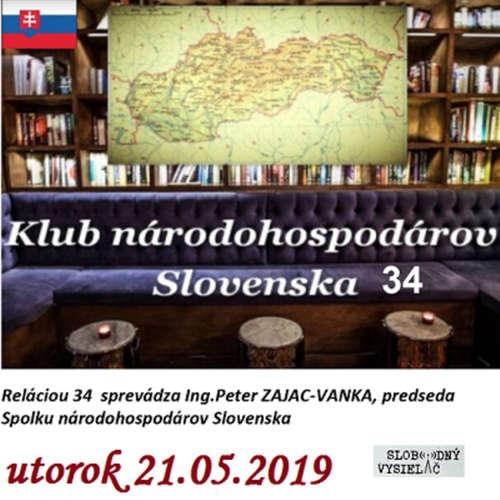 Klub národohospodárov Slovenska 34 - 2019-05-21