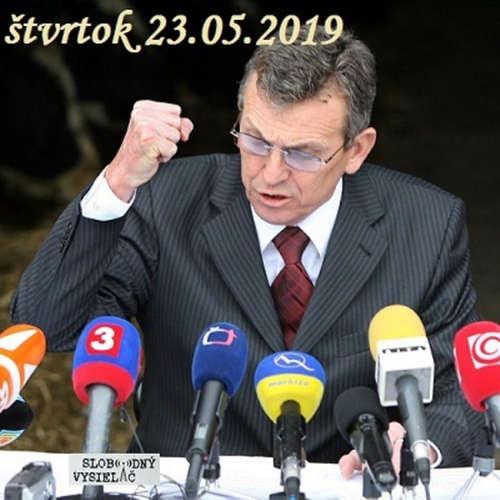 Konšpiračný byt 89 - 2019-05-23 Na výsluchu  Miroslav Jureňa