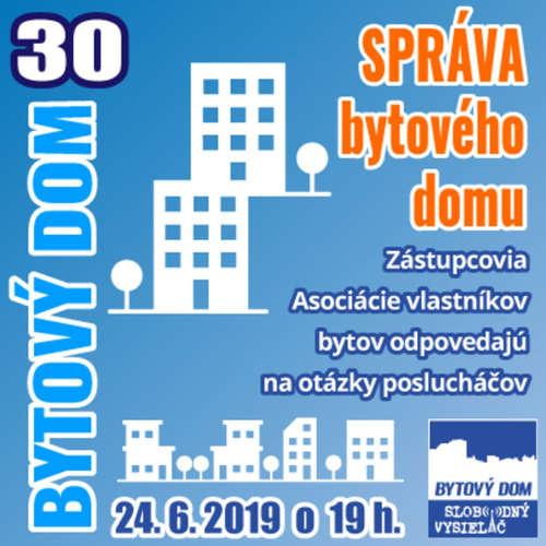 Bytový dom 30 - 2019-06-24 SPRÁVA BYTOVÉHO DOMU 2.