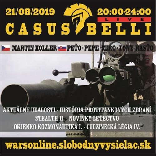 Casus belli 74 - 2019-08-21