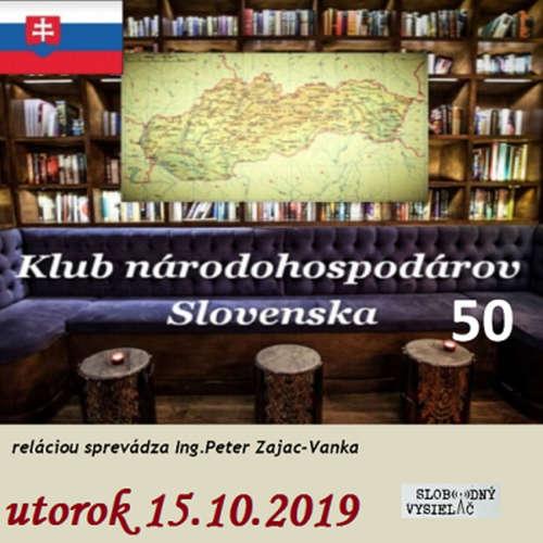 Klub národohospodárov Slovenska 50 - 2019-10-15